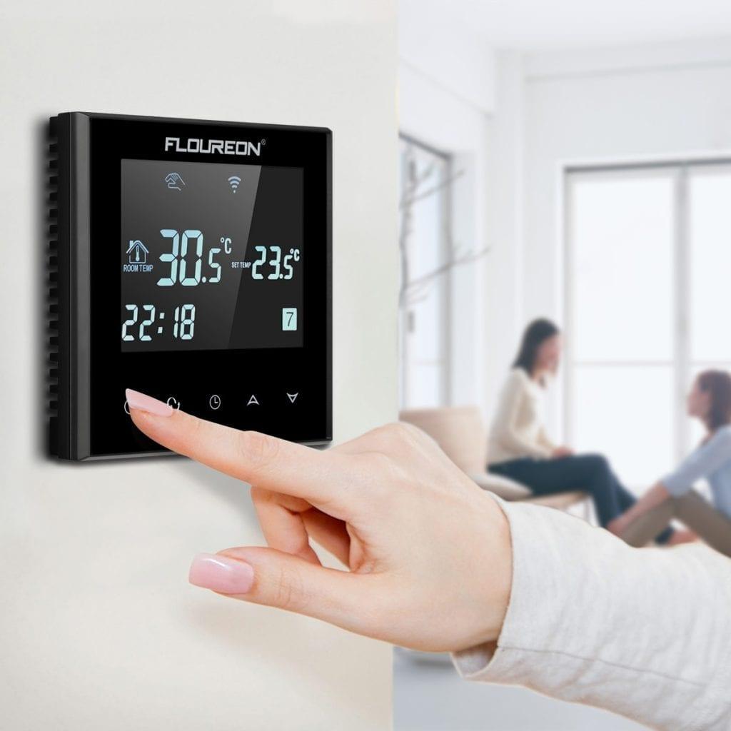 Automatizare pardoseala -- termostat