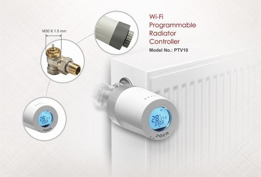 Echilibrare hidraulica -- cap termostatic WiFi