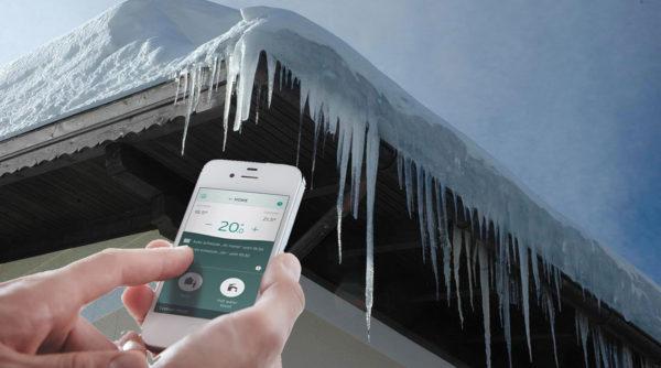 senzor extern de temperatura