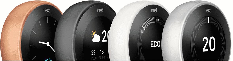 Termostat Nest learning